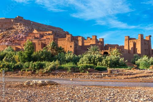 Papiers peints Maroc Ksar of Ait Ben Hadu, Morocco