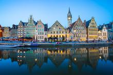 The Twilight Of Ghent In Belgium