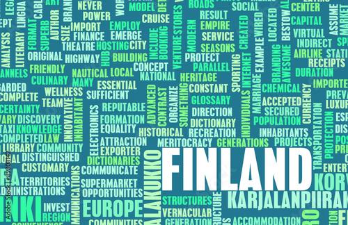 Fotografie, Obraz  Finland