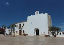 White Church In Sant Francesc ...