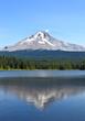 Mt Hood from Lake Trillium, Oregon
