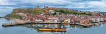 Whitby Harbour On The North Ea...