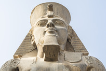 Head Of Ramses II At The Luxor...