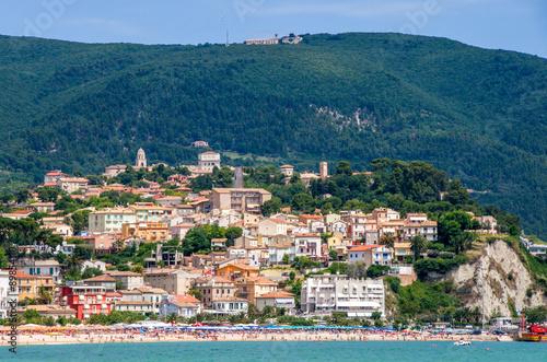 town of Numana (Marche region - Italy) Canvas Print