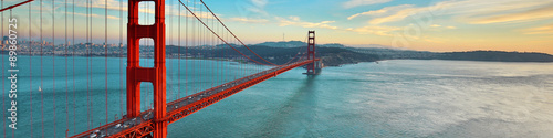 Foto op Aluminium Brug Golden Gate Bridge, San Francisco California