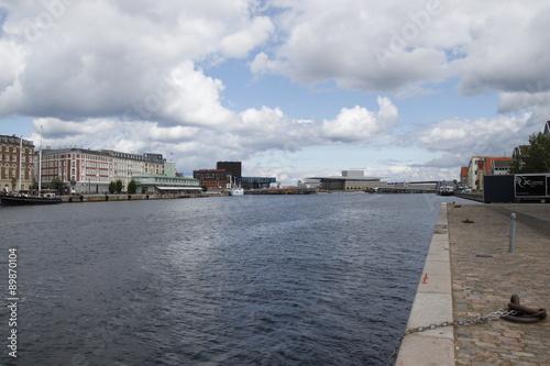 Papiers peints Canal Copenhague - Canal