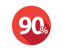 90 Percent  Discount Sale Red ...