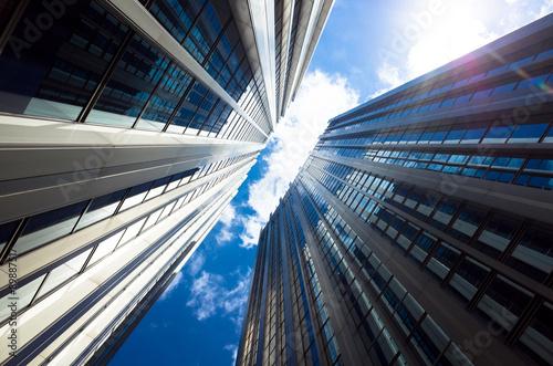 Fototapeta ビルディング,ビジネスイメージテクスチャー obraz