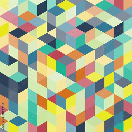 3d bloków struktury tło. Ilustracji wektorowych.