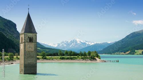 Foto  Reschensee - Lago di Resia