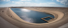 Photo Of The Water Reservoire Dlouhe Strane.Hydroelectric Pumped Storage Power Plant.