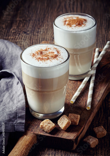 obraz dibond Coffee latte