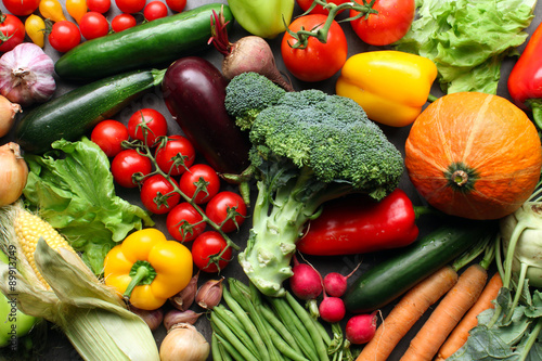 fresh farm vegetables