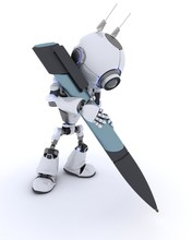 Robot Writing With A Pen