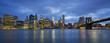 Panoramic view of New York City