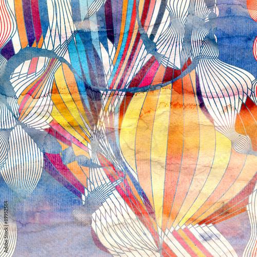 Młodzieżowe   mozaika-abstrakcyjnych-kolorow-milosci