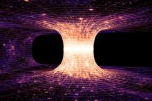 A Wormhole, Or Einstein-Rosen ...