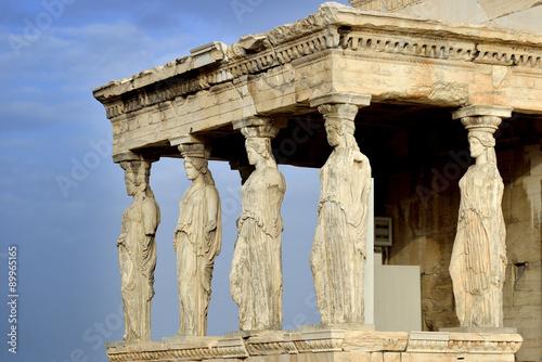 Printed kitchen splashbacks Athens Caryatides at Acropolis of Athens