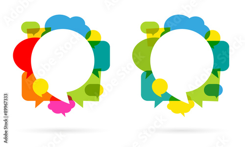 Fotografering  Bulles / Speech bubbles
