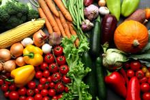 Fresh Vegetables Background - ...