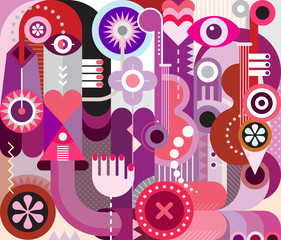 Plakat Music Festival Design