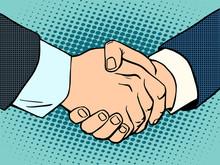 Handshake Business Deal Contract