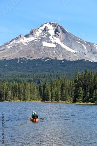 Fényképezés  Mt Hood from Trillium Lake