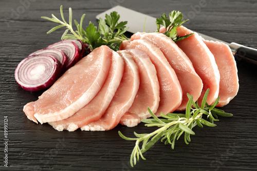 Staande foto Vlees meat