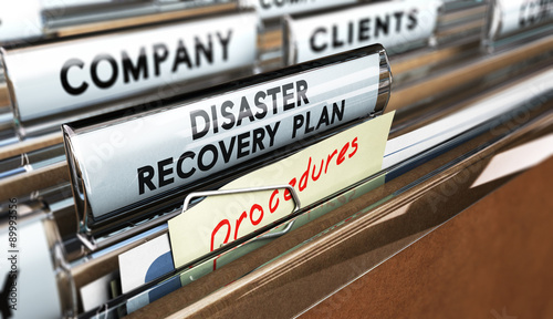 DRP, Disaster Recovery Plan Wallpaper Mural