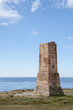 Antigua torra vigía situada en la costa de Málaga, Marbella, torre ladrones