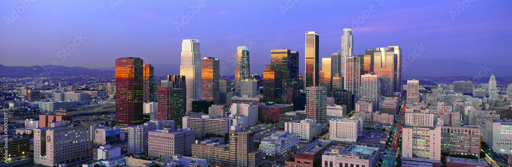 Fototapety, obrazy: Skyline, Los Angeles, California
