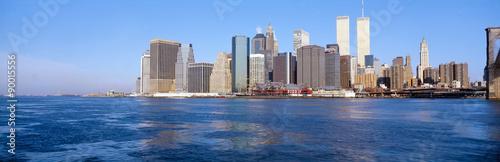 Photo  Lower Manhattan, East River, New York