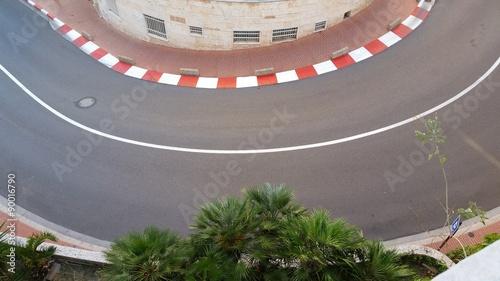 Tuinposter F1 Virage F1 à Monaco