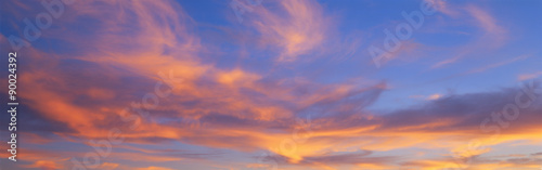 Valokuvatapetti This is a sunset sky.