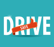 Drive Safe And Stay Alive Icon...
