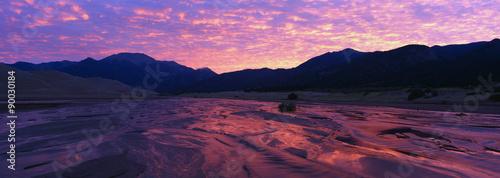 Valokuvatapetti This is a sunrise sky over southwest Utah.