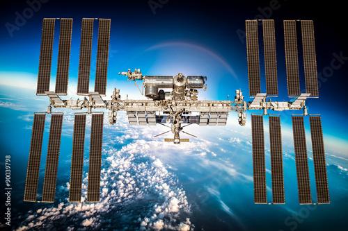 Keuken foto achterwand Nasa International Space Station