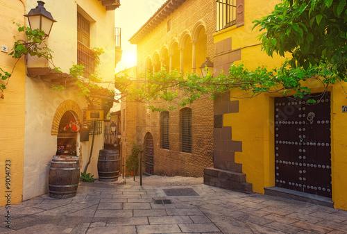 poble-espanyol-tradycyjne-architektury-w-barcelonie-hiszpania