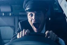 Chauffeur Gets Into Car Crash