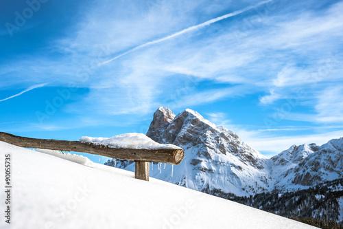 Photo  dolomiti d'inverno