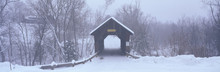 New England Covered Bridge In ...