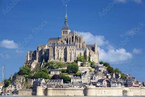 Obraz na płótnie View of Mont-Saint-Michel