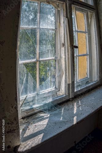 Cadres-photo bureau Ancien hôpital Beelitz Glasbruch