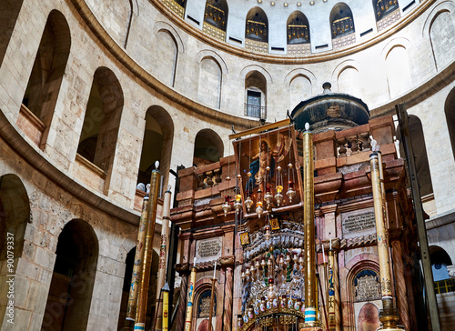 Fotomural Church of the Holy Sepulchre in Jerusalem