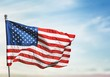 Leinwanddruck Bild - American Flag.