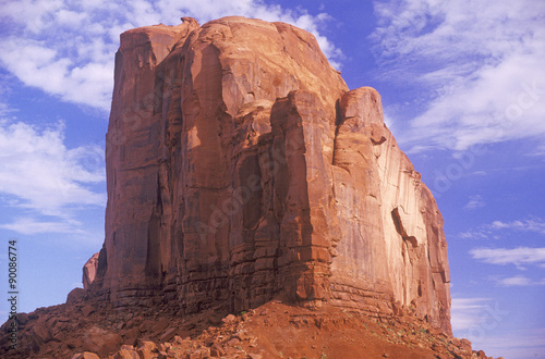 Fotografia, Obraz  Large Rock Formation, Monument Valley, Utah