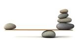 Fototapeta Kamienie - balancing stones
