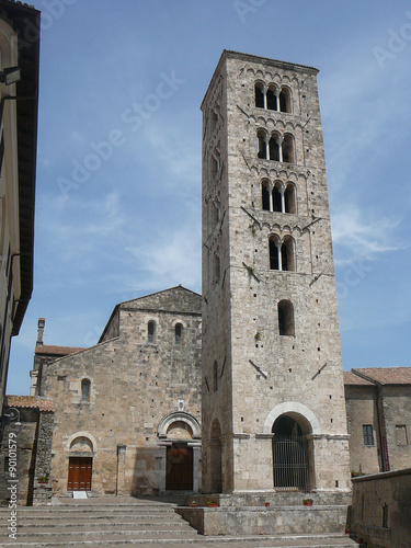 View of Anagni Fototapet