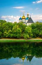 Novospassky Monastery In Mosco...
