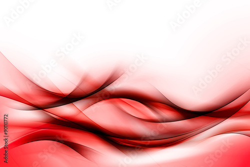 Fotografie, Obraz  Red Abstract